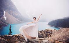 去爱一个人,攀一座山,追一个梦。来自加拿大的旅拍