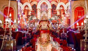 【麒麟宴会】欧式红金风格璀璨大气 含四大金刚