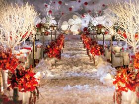 【鲜花婚礼策划】初雪