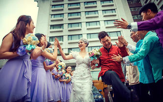 景亦婚礼纪实摄影   双机位  婚礼全程跟拍