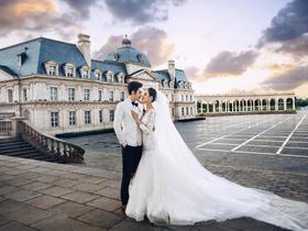 「玫瑰星座」 拉菲特欧式婚纱照系列