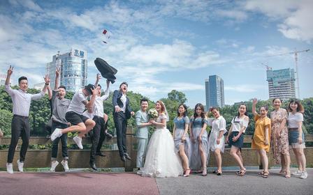 花儿映画首席档双机婚礼跟拍,张小明做后期