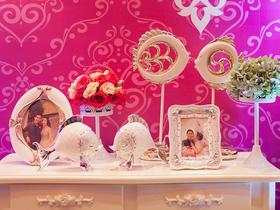温馨邂逅 |紫色迷情|紫色主题婚礼鲜花布置
