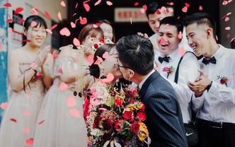 壹婚礼首席双机位多角度纪实婚礼全天拍摄