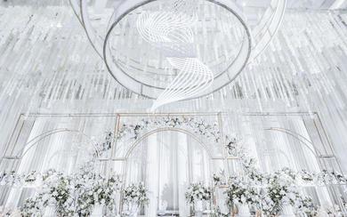 【伯妮】浪漫的简欧婚礼 白色圣殿
