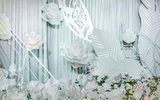 【天使梦缘】主推超低价白色小清新婚礼