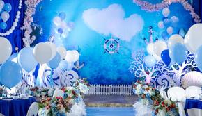 【乐乐婚礼】海洋系+四大+花车装饰全套