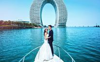 时尚环球旅拍婚纱照-黄金湖岸C套餐