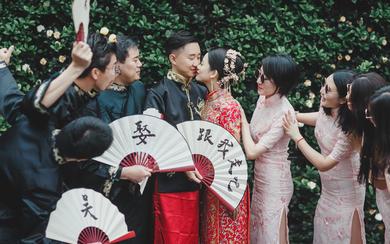 【追光影像】婚礼日•大华饭店