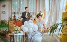 【蓝朵摄影】室内婚纱照,不满意重拍,底片全送