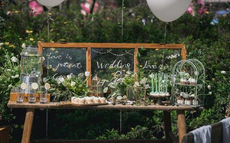 同窗【悠悠花嫁】森林里的小婚礼,清晰自然不造作