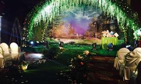 森林风婚礼
