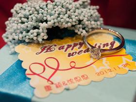 颜色可选 梦幻蓝主题婚礼