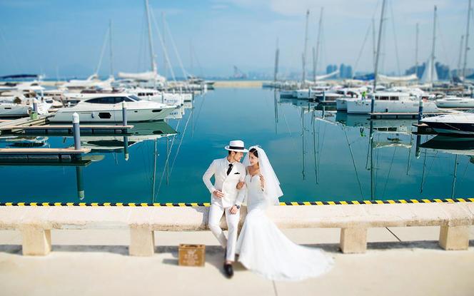 三亚5天4晚|东方迪拜凤凰岛婚纱套餐