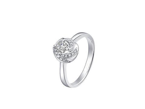壹爱钻石订婚结婚钻戒——钻石皇后