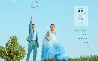 会呼吸的婚纱照+鲜花服务+底片全送+免费送件