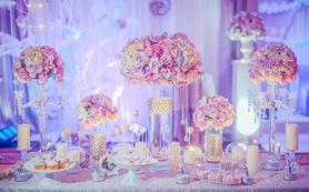 紫色公主梦幻婚礼