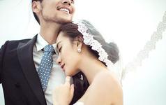 三亚APPLE视觉婚纱摄影|天涯海角|环海礁石