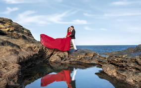 【北海+涠洲岛】总监定制婚纱照+微电影,产品包邮
