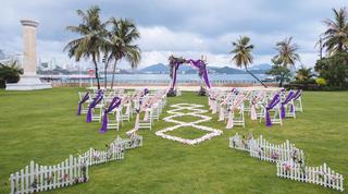 【2-10人婚礼套餐】缘鼎婚礼定制您的海岛婚礼