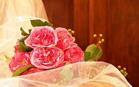高级彩妆造型师精心打造新娘婚礼造型