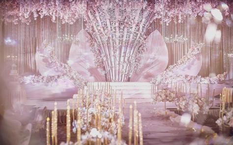 【艾薇儿婚礼】粉色印象主题婚礼