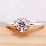 壹爱钻石订婚结婚钻戒——爱的丘比特