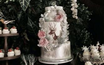 1v1婚礼甜品台设计(风格套餐A)