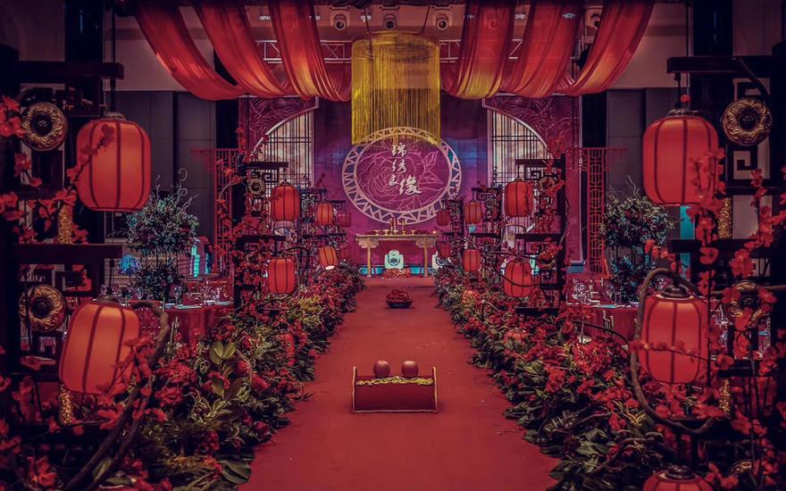 中式婚礼-锦绣良缘-清平梦高端古风婚礼策划