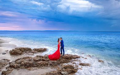 【拾花摄全球旅拍】普吉岛大海礁石样片