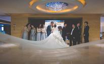 WISH薇嘻浪漫香槟简约婚礼现场图