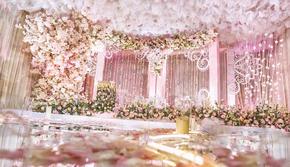 【smilewedd】粉色室内花海主题婚