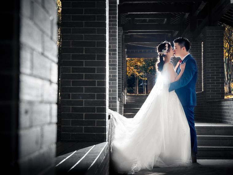 全天单机位婚礼跟拍摄影 精修65