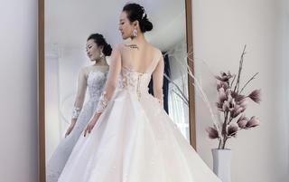 苏米 婚纱