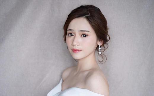 艾丽美妆婚礼资深总监时尚新娘客户试妆照分享