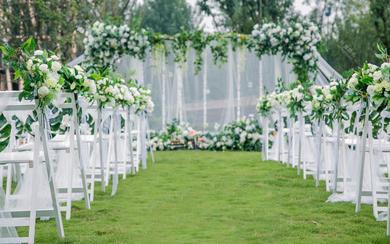 【述说婚礼】白绿小清新婚礼 清新森系