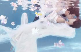 【水中精灵】-2017今生有约创意摄影
