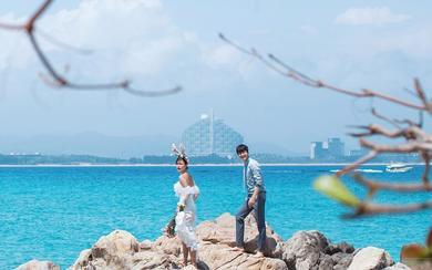 唯一全球旅拍【三亚站】爱玩水的精灵