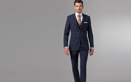 【商务/结婚】【里绅】意大利进口纯羊毛西服6件套