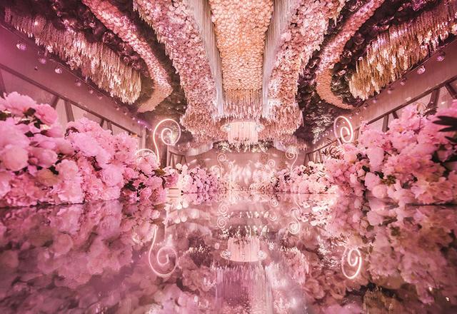 【禧合酒店】花厅--粉色花海  浪漫婚礼
