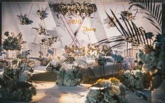 【梦享婚礼】大理石轻奢婚礼  #永恒#
