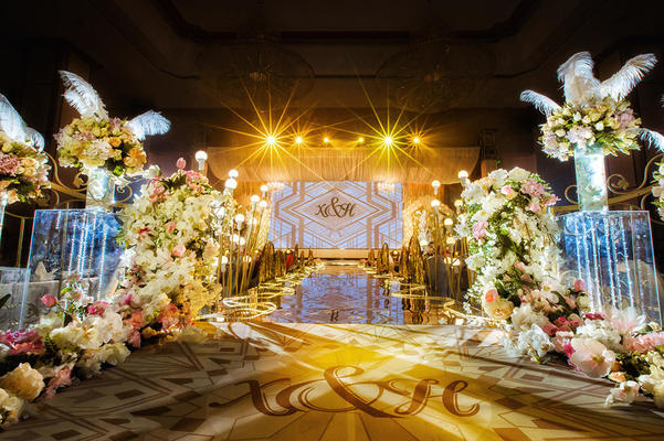 【TBO婚礼策划】流金 盖茨比奢华大气