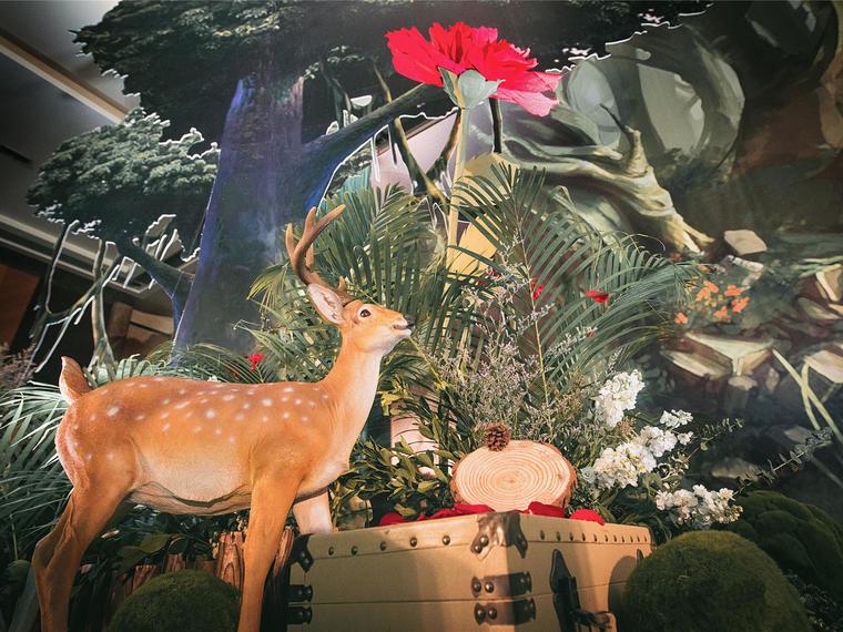 【吾爱婚礼】森林花语(鲜花森系)