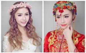 【宇涵造型】总监级化妆 清新少女感妆容+免租婚纱