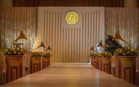 金色音乐会主题婚礼