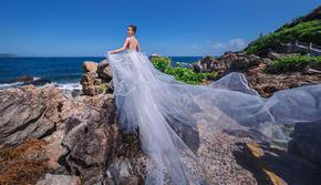 三亚市区最美的岛屿西岛开拍了
