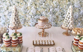 1V1婚礼甜品台设计(巧莓塔套餐D)