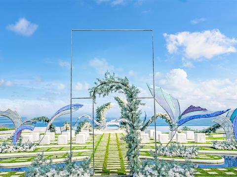 【罗曼斯海外婚礼】梦幻岛婚礼——蓝色大海的传说