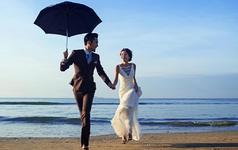 【繁花里摄影】蓝天碧海沙滩与你相伴