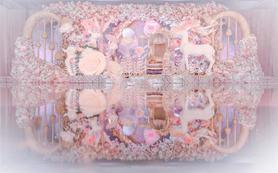 阿兰婚礼会馆-粉色《best of bloom》